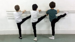 a ballet boy barre
